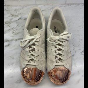 "Adidas superstar ""Metal toe"" rose gold"
